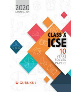 Oswal ICSE 10 Years Solved Papers For Class X (For 2020 Exam)