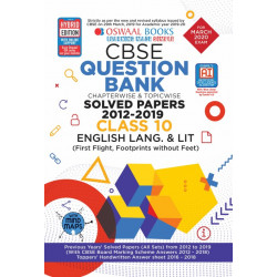 Oswaal CBSE Question Bank Class 10 English Language &