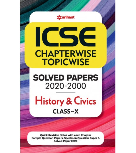 ICSE Chapterwise Topicwise Solved Papers History and Civics Class 10 for 2021 Exam