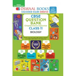 Oswaal CBSE Question Bank Class 11 Biology Chapterwise and