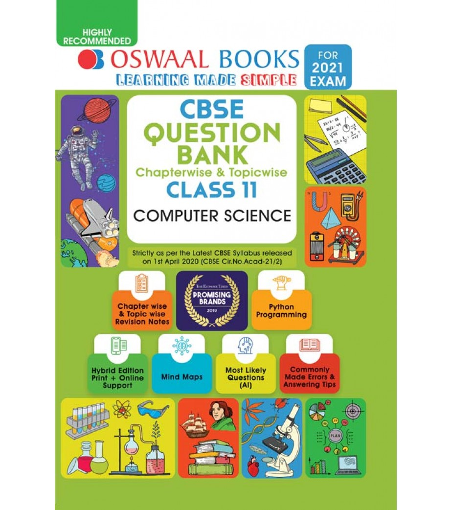 Oswaal CBSE Question Bank Class 11 Computer Science ...