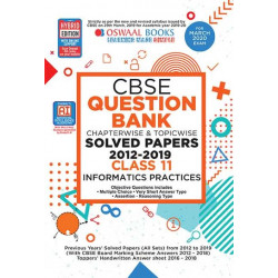 Oswaal CBSE Question Bank Class 11 Informatics Practices