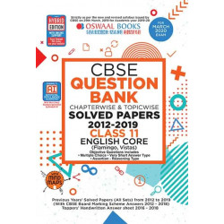 Oswaal CBSE Question Bank Class 11 English Core Chapterwise