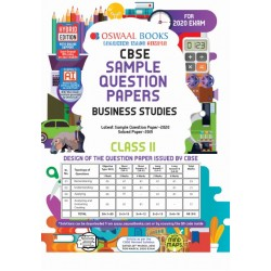 Oswaal CBSE Sample Question Papers Class 11 Business