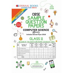 Oswaal CBSE Sample Question Papers Class 11 Computer