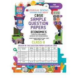 Oswaal CBSE Sample Question Papers Class 11 Economics for