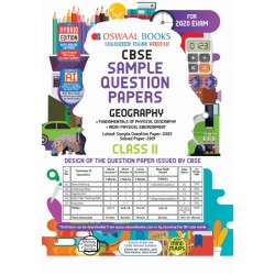 Oswaal CBSE Sample Question Papers Class 11 Geography for