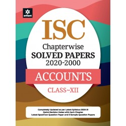 ISC Chapterwise Solved Papers Accounts Class 12 for 2021