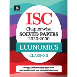 ISC Economics Chapterwise Solved Papers Class 12 for 2021