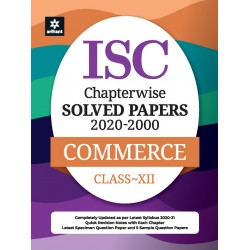 ISC Chapterwise Solved Papers Commerce Class 12 for 2021
