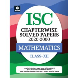 ISC Chapterwise Solved Papers Mathematics Class 12 for 2021