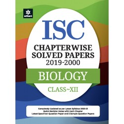 ISC Chapterwise Solved Papers Biology Class 12 for 2021 Exam