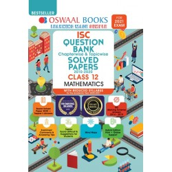 Oswaal ISC Question Bank Class 12 Mathematics Chapterwise