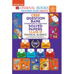 Oswaal CBSE Question Bank Class 12 Political Science Chapterwise and Topicwise (For March 2021 Exam)