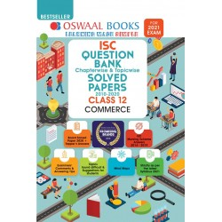 Oswaal ISC Question Bank Class 12 Commerce Chapterwise and