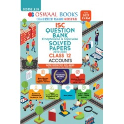 Oswaal ISC Question Bank Class 12 Accounts Chapterwise and