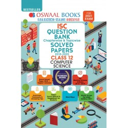 Oswaal ISC Question Bank Class 12 Computer Science