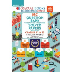 Oswaal ISC Question Bank Class 12 English Paper-2