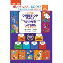Oswaal CBSE Question Bank Class 12 English Core Chapterwise and Topicwise (For March 2021 Exam)