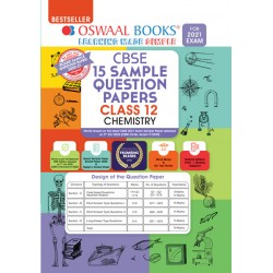 Oswaal CBSE Sample Question Papers Class 12 chemistry for