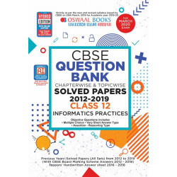 Oswaal CBSE Question Bank Class 12 Informatics Practices