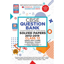 Oswaal CBSE Question Bank Class 12 English Core Chapterwise