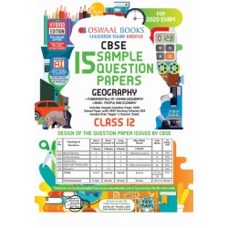 Oswaal CBSE Sample Question Papers Class 12 Geography for