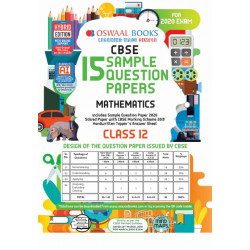 Oswaal CBSE Sample Question Papers Class 12 Mathematics for