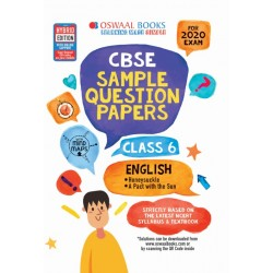 Oswaal CBSE Sample Question Papers Class 6 English for 2020