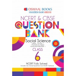 Oswaal NCERT & CBSE Question Bank Class 6 Social Science