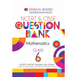 Oswaal NCERT & CBSE Question Bank Class 6 Maths (For March