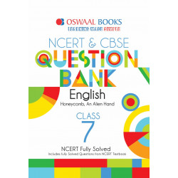 Oswaal NCERT & CBSE Question Bank Class 7 English (For