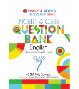 Oswaal NCERT & CBSE Question Bank Class 7 English (For March 2020 Exam)