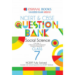 Oswaal NCERT & CBSE Question Bank Class 7 Social Science