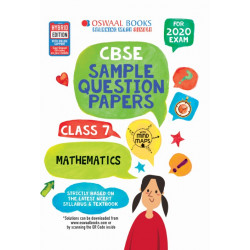 Oswaal CBSE Sample Question Papers Class 7 Mathematics for