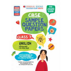 Oswaal CBSE Sample Question Papers Class 7 English for 2020