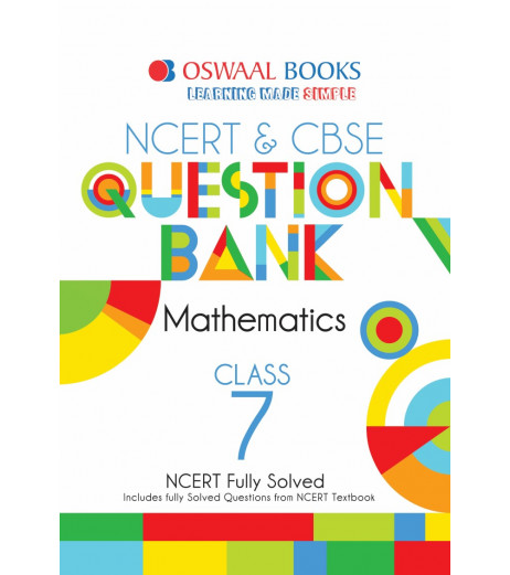 Oswaal NCERT & CBSE Question Bank Class 7 Maths (For March 2020 Exam)