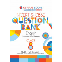 Oswaal NCERT & CBSE Question Bank Class 8 English (For