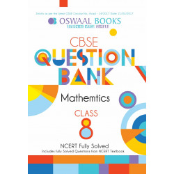 Oswaal NCERT & CBSE Question Bank Class 8 Maths (For March