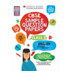 Oswaal CBSE Sample Question Papers Class 8 English for 2020
