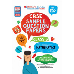 Oswaal CBSE Sample Question Papers Class 8 Mathematics for