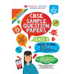 Oswaal CBSE Sample Question Papers Class 8 Social Science
