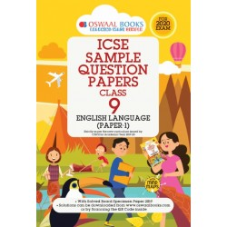 Oswaal ICSE Sample Question Papers Class 9 English Language