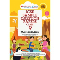 Oswaal ICSE Sample Question Papers Class 9 Mathematics