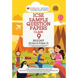 Oswaal ICSE Sample Question Papers Class 9 Biology  Book
