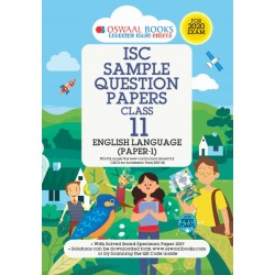 Oswaal ISC Sample Question Paper Class 11 English Language