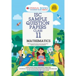 Oswaal ISC Sample Question Paper Class 11 Mathematics Book