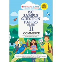 Oswaal ISC Sample Question Paper Class 11 Commerce Book