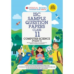 Oswaal ISC Sample Question Paper Class 11 Computer Scienec