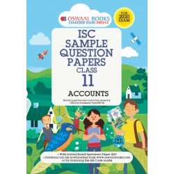 Oswaal ISC Sample Question Paper Class 11 Account Book  for
